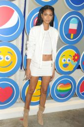 Chanel Iman - Opening Party of Love: From Cave to Keyboard, Imagined by Pepsi in New York City, July 2016