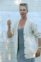 Charlize Theron Street Style - Out in Los Angeles 07/05/2016