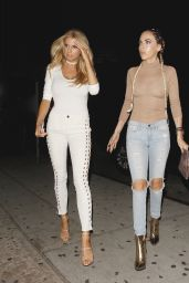 Charlotte McKinney Night Out Style - Leaving The Nice Guy in West Hollywood, July 2016