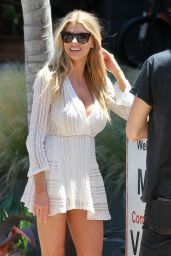 Charlotte McKinney - Shopping in Malibu With Friends 7/3/2016