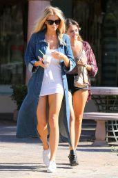 Charlotte McKinney Street Outfit - Malibu, 7/23/2016