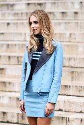 Chiara Ferragni - Atelier Versace Haute Couture Fall/Winter 2016-2017 Show - Paris Fashion Week 7/3/2016