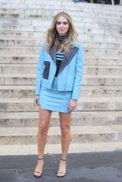 Chiara Ferragni - Atelier Versace Haute Couture Fall/Winter 2016-2017 Show - Paris Fashion Week 7/3/2016