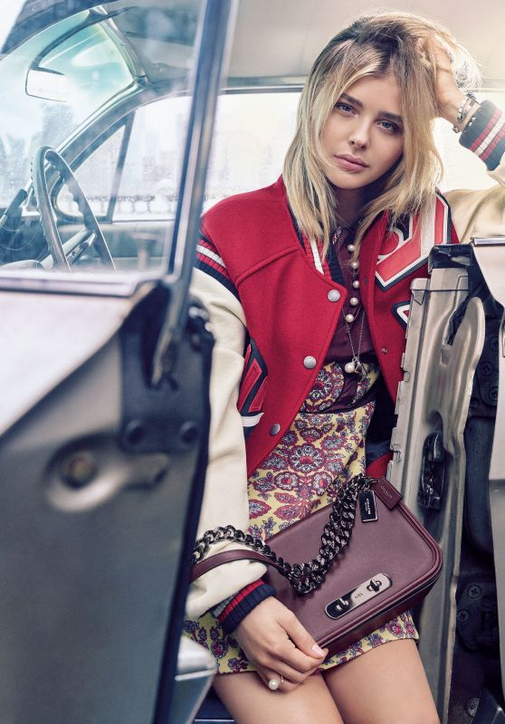 Chloë Grace Moretz Photoshoot - Coach Fall 2016 Campaign