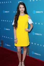 Chloe East – A24's 'Equals' Premiere at ArcLight Hollywood