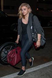 Chloe Moretz at LAX 7/24/2016