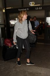 Chloe Moretz at LAX Airport 7/29/2016