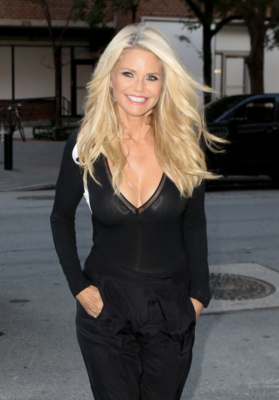 Christie Brinkley - Out in New York City, July 2016