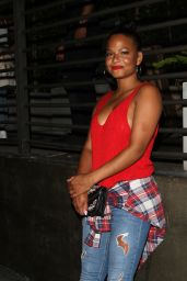 Christina Milian at Hyde Lounge in West Hollywood 7/25/2016