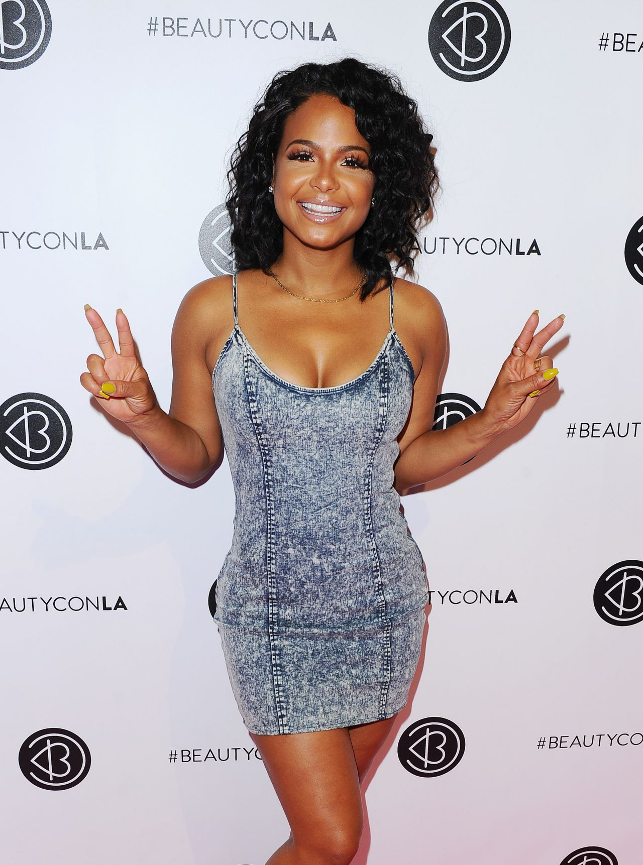 Christina Milian – Beautycon Festival in Los Angeles, July ...