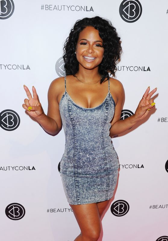 Christina Milian – Beautycon Festival in Los Angeles, July 9 2016