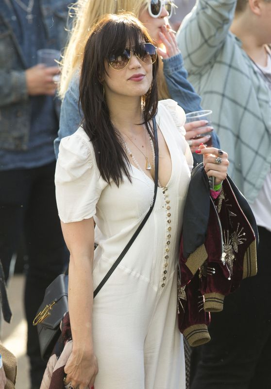 Daisy Lowe at the British Summer Time Festival in Hyde Park, London 7/2/2016