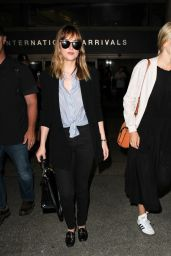 Dakota Johnson at LAX Airport in LA 07/21/2016