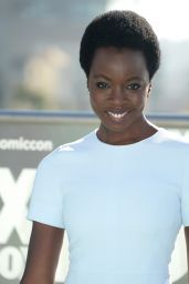 Danai Gurira – 'The Walking Dead' Press Line at Comic-Con International in San Diego 7/22/2016