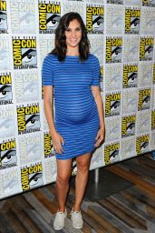 Daniela Ruah - CBS Television Studios Press Line at Comic-Con in San Diego 7/21/2016