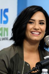 Demi Lovato at the Elvis Duran Show in New York City 7/13/2016
