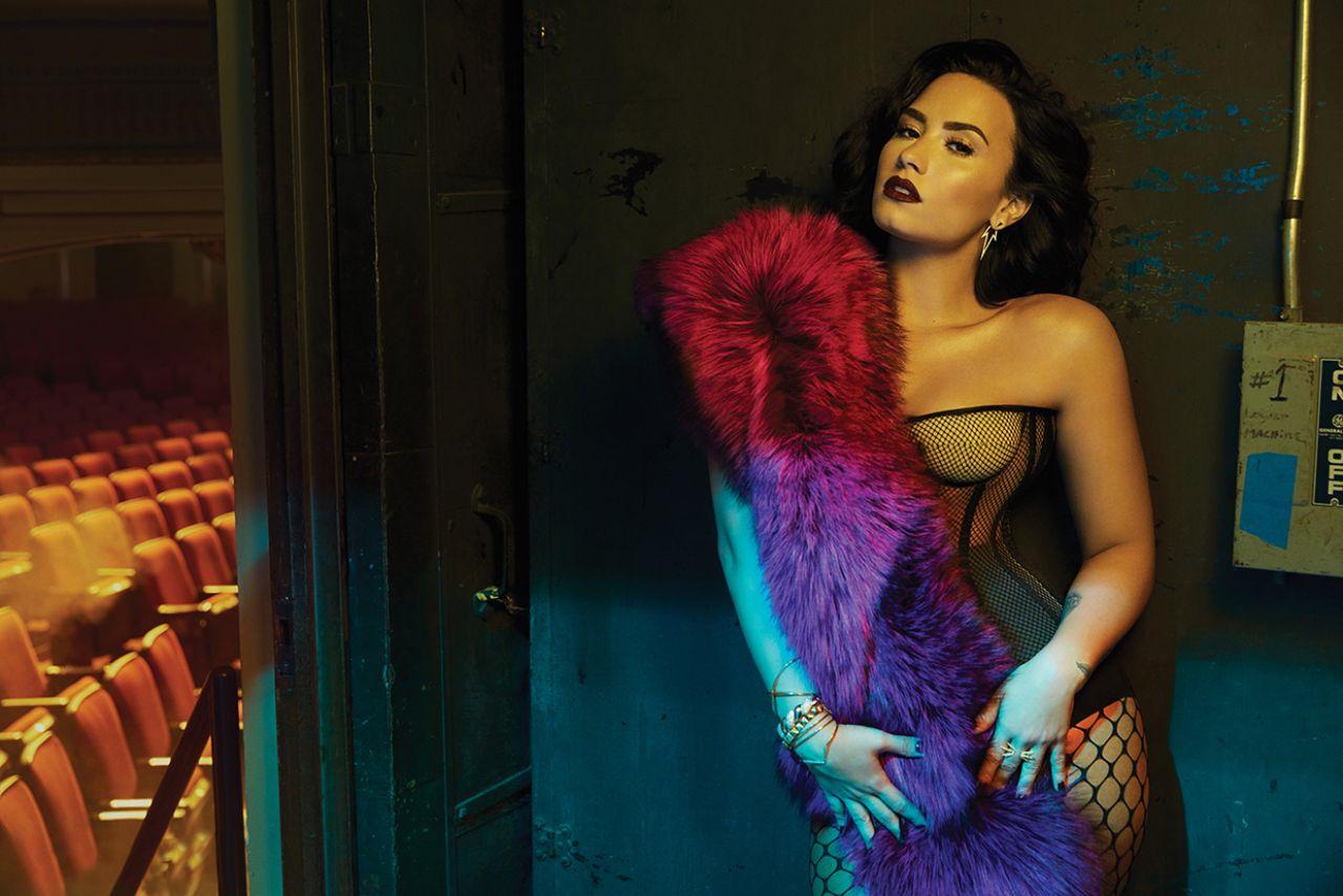 Demi Lovato Billboard Magazine July Six Photos