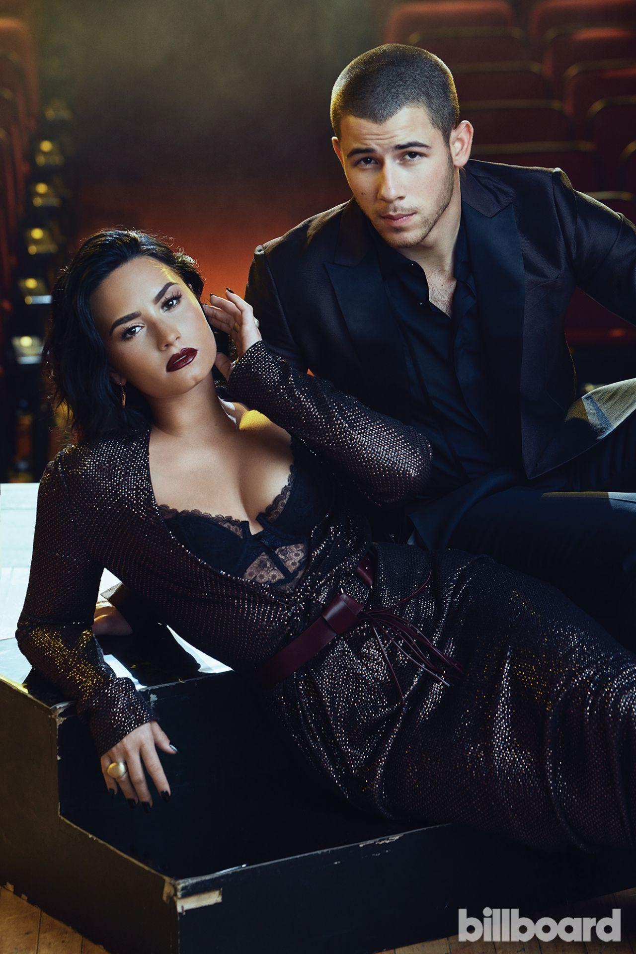 Demi Lovato & Nick Jonas - Billboard July 2016 • CelebMafia