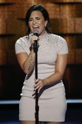 Demi Lovato - Performing at The Democratic National Convention in Philadelphia, July 2016