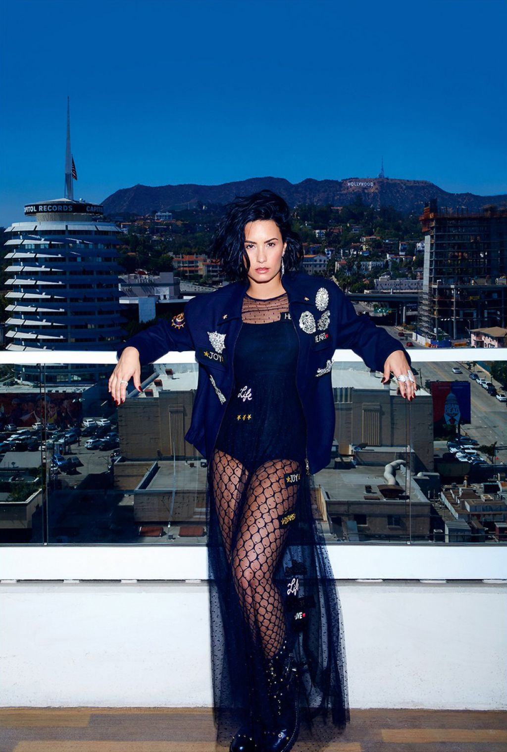 Demi Lovato - Photoshoot for Elle Canada September 2016 issue