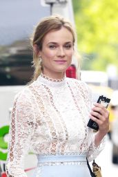 Diane Kruger Chic Outfit - Heading to the Today Show in New York City 7/14/2016