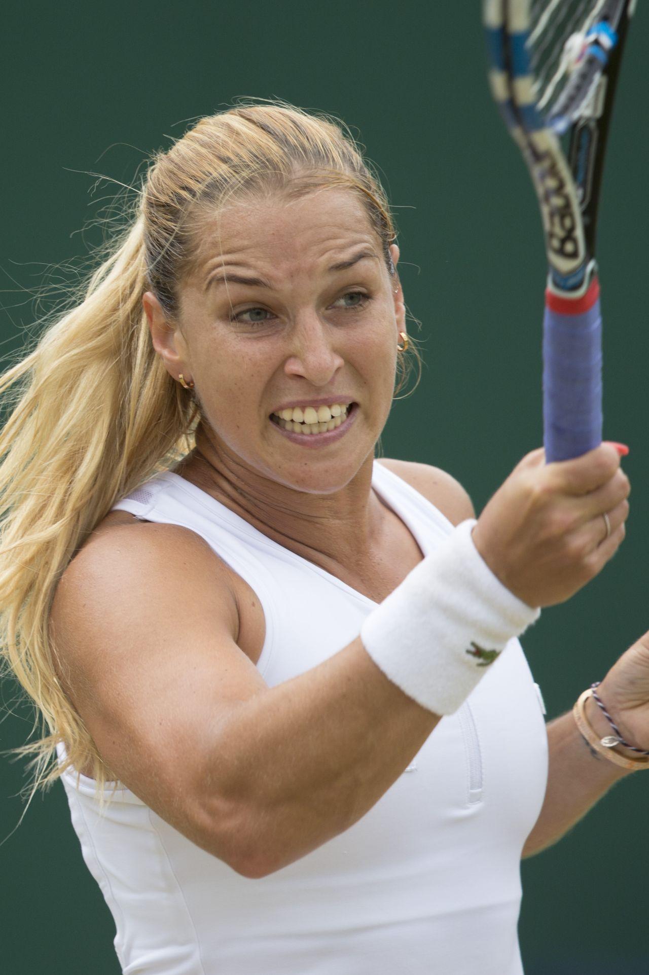 Dominika Cibulkova  Wimbledon Tennis Championships in - 4Th Of July Hairstyles