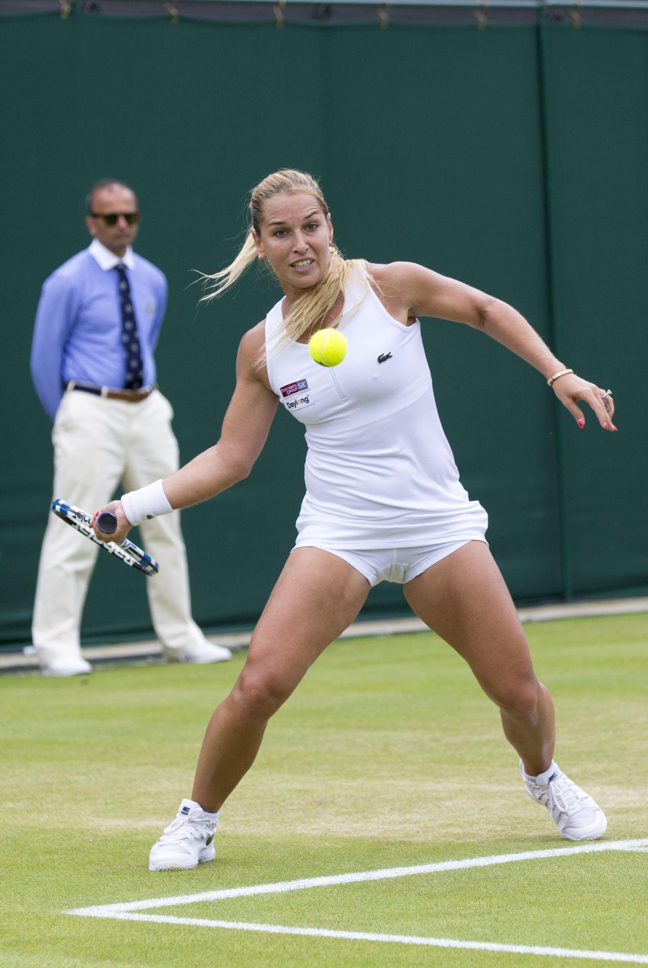 Dominika Cibulkova Wimbledon Tennis Championships In