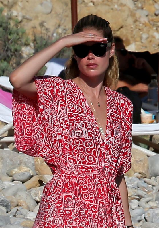 Doutzen Kroes in Ibiza, Spain 07/24/2016