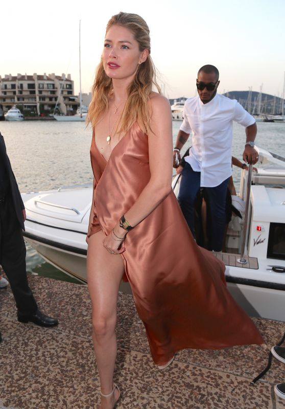 Doutzen Kroes – Leonardo DiCaprio Foundation Gala in St. Tropez, France7/20/2016