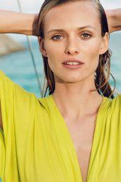 Edita Vilkeviciute in Bikini - Zara Home Beachwear Spring-Summer 2016