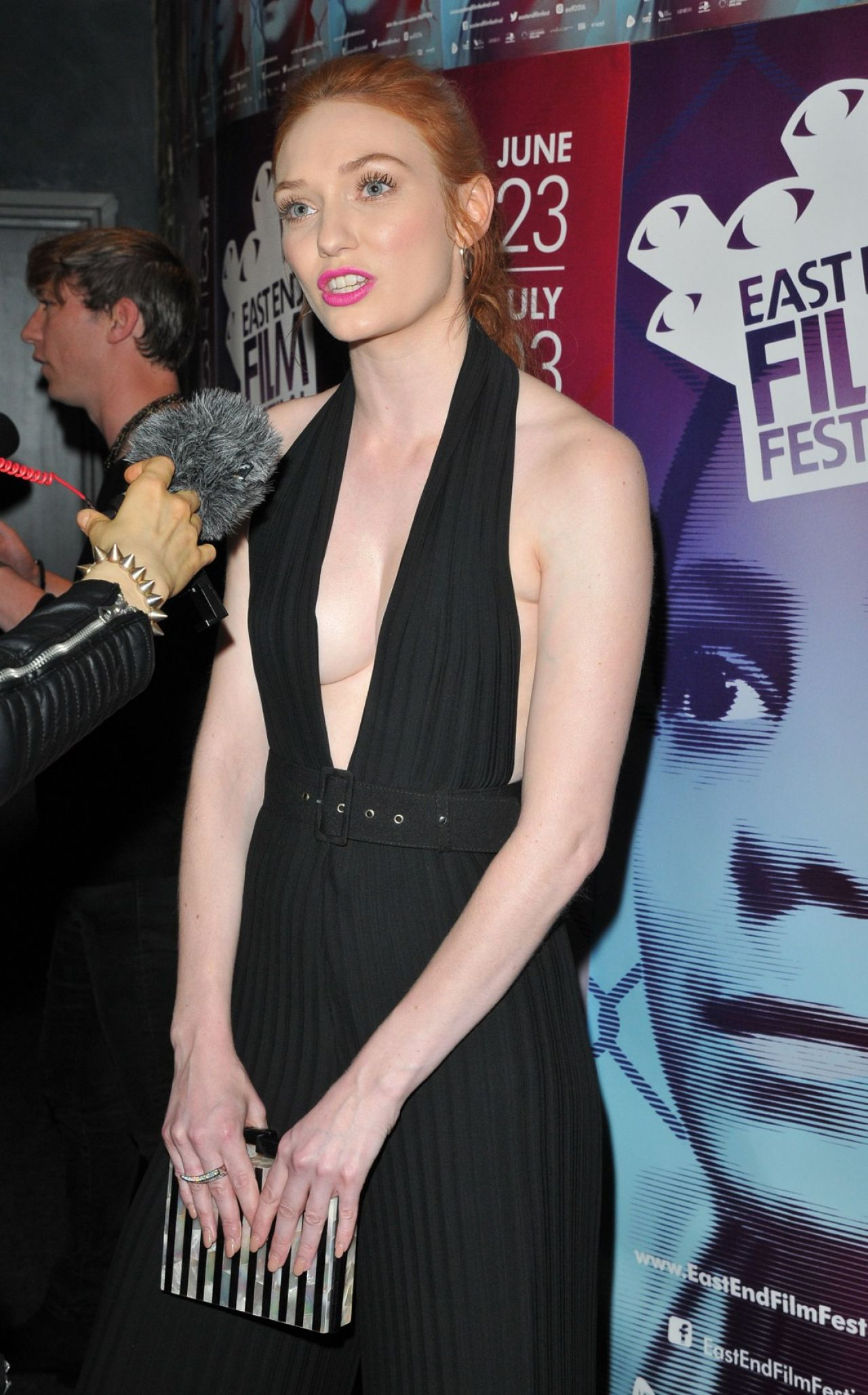 Eleanor Tomlinson Alleycats Movie Premiere At East End Film Festival Opening Gala In London