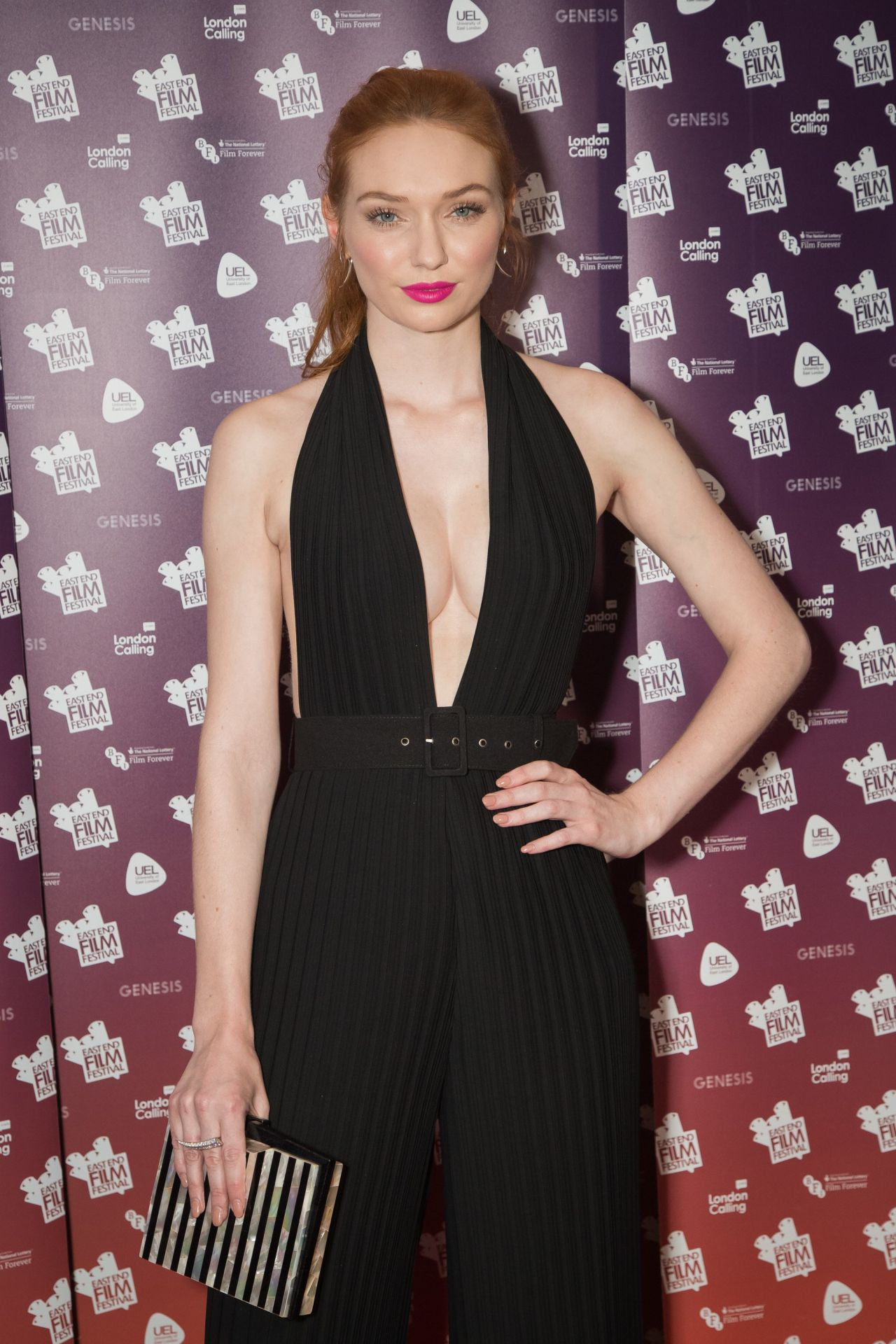 Eleanor Tomlinson – 'Alleycats' Movie Premiere at East End Film ...