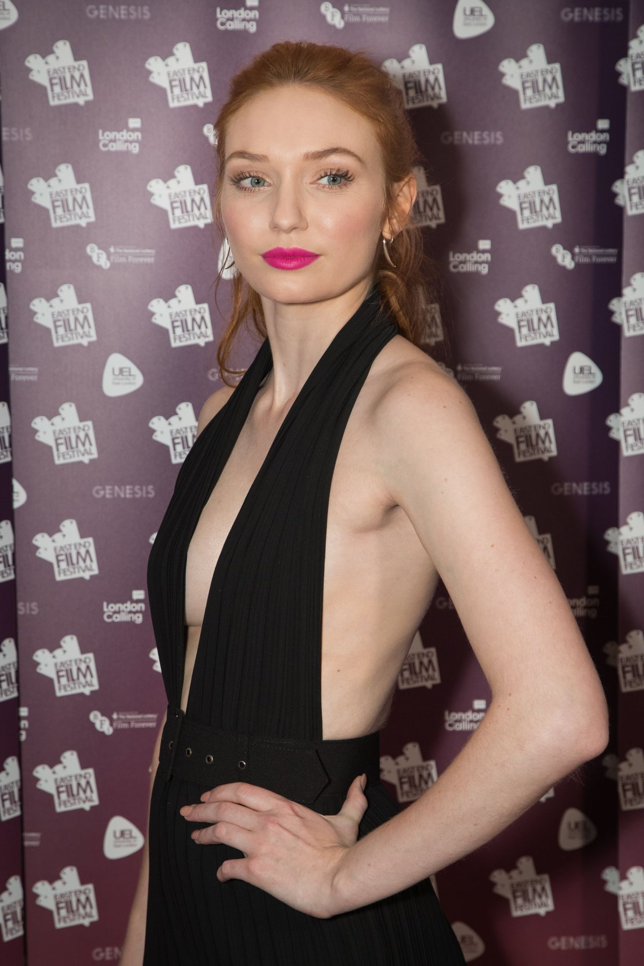 Eleanor Tomlinson - Alleycats Movie Premiere At East End Film Festival Opening Gala -3927