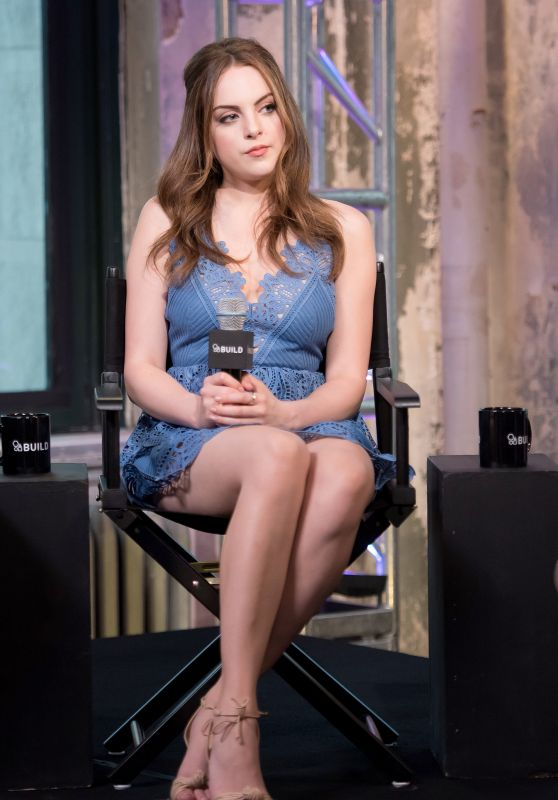 Elizabeth Gillies - AOL Build Series about 'S*x Drugs and Rock and Roll' in NYC 6/30/2016