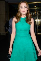 Elizabeth Gillies -  Arriving to Appear on