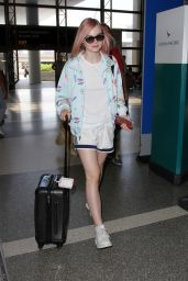 Elle Fanning at LAX Airport in LA 7/12/2016