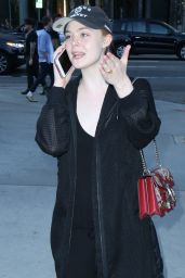 Elle Fanning at the Arclight Hollywood Theater in LA, July 2016