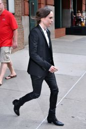 Ellen Page Style - New York City, 07/19/2016
