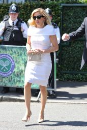 Ellie Goulding in London - Wimbledon Tennis Championships 7/6/2016