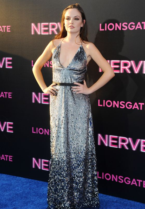 Emily Meade – 'Nerve' Premiere in New York City 7/12/2016