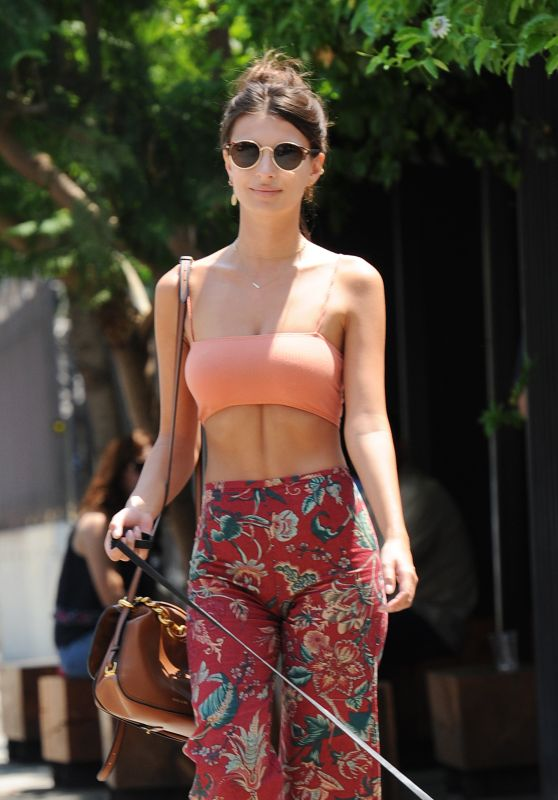 Emily Ratajkowski - Out in Los Angeles 07/29/2016