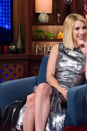 Emma Roberts - Bravo WWHL in New York City, July 2016