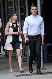 Emma Roberts Inspiring Style - New York City, 07/09/2016