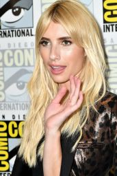 Emma Roberts – 'Scream Queens' Press Line at Comic-Con in San Diego 07/22/2016