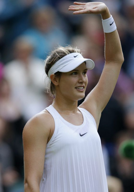 Eugenie Bouchard – Wimbledon Tennis Championships in London 2nd Round 6/30/2016