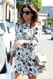 Eva Longoria Casual Style  - Shopping at Intermix in West Hollywood  7/12/2016