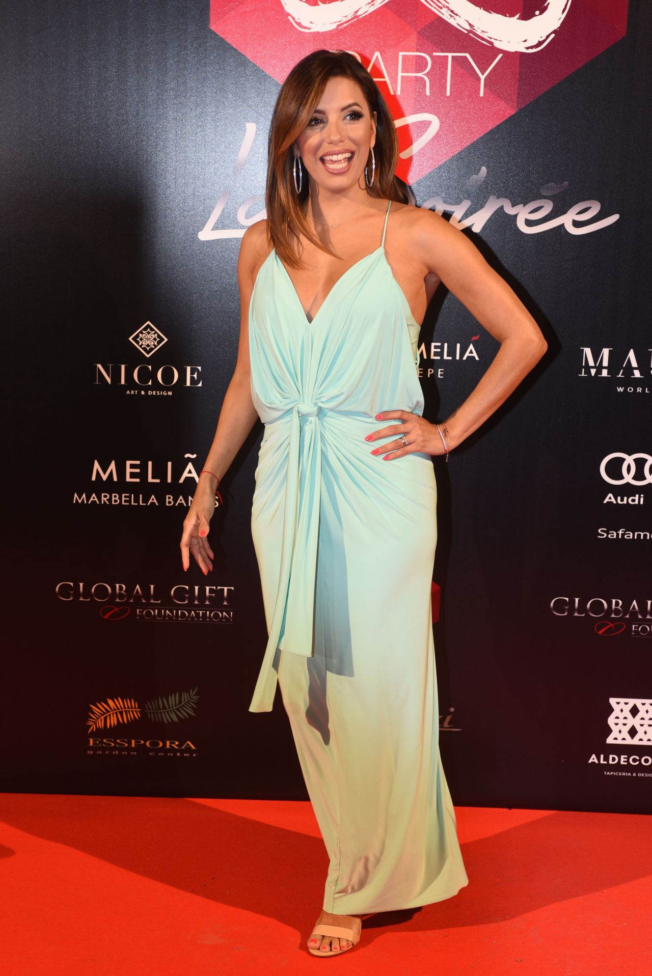 Eva Longoria - Global Gift Gala Pre-Party in Marbella ... Eva Longoria