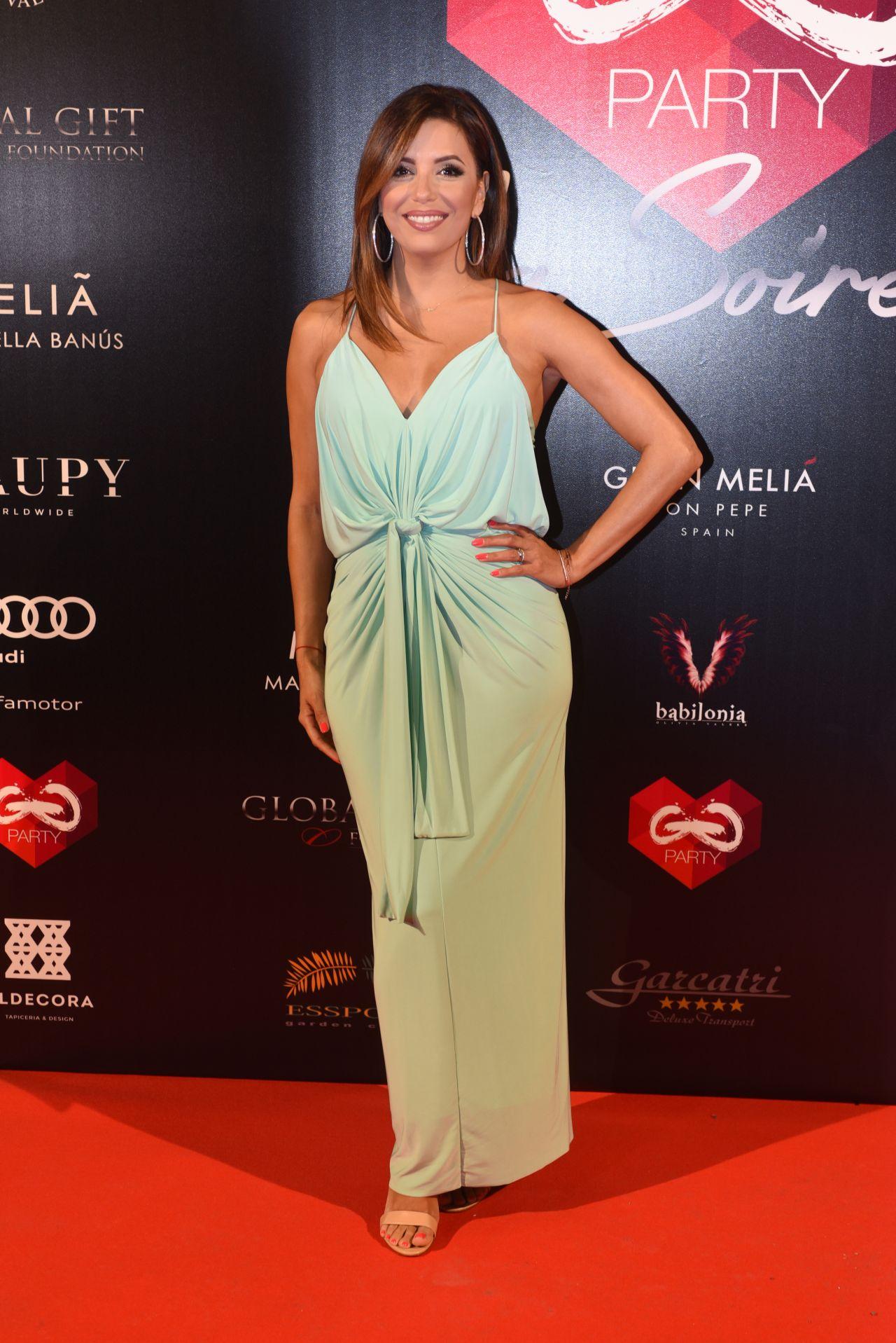 402fc16761a Eva Longoria - Global Gift Gala Pre-Party in Marbella