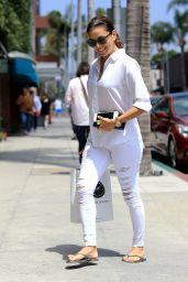 Eva Longoria Inspiring Street Style - Shopping in LA 7/6/2016