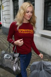 Fearne Cotton - Arriving at BBC Radio Two Studios in London 7/1/2016